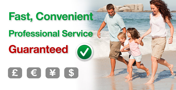 Fast Professional Service Guaranteed